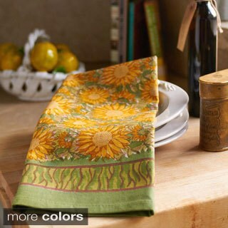 Couleur Nature Sunflower Tea Towels (Set of 3) (2 options available)