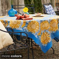 Couleur Nature Sunflower Square Tablecloth