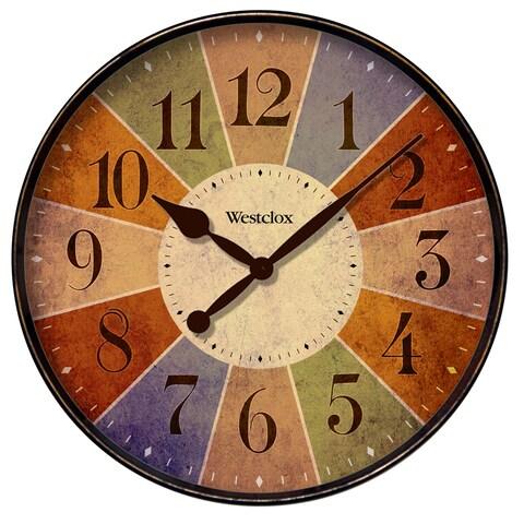 WestClox 12-inch Kalediscope Wall Clock