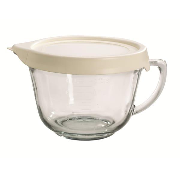 Batter bowl 2 quart truefit lid free shipping on orders for Fish batter bowl