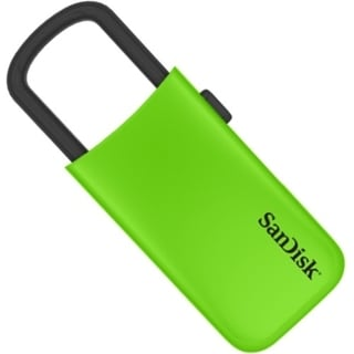 SanDisk Cruzer U USB Flash Drive 8 GB - Green