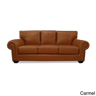 Made to Order Cambridge Italian Leather Sofa