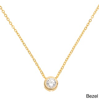 Cubic Zirconia Necklace with Red Gift Box (4 options available)