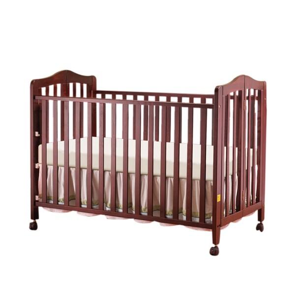Orbelle Lisa 2 Level Folding Full Size Crib Free