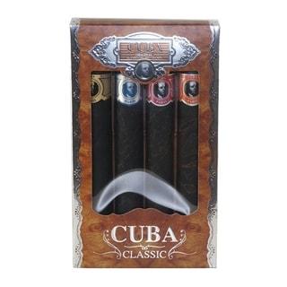 Champs Cuba Collection Men's 4-piece Gift Set
