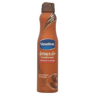 Vaseline Spray and Go Moisturizer Cocoa Radiant Non-Greasy 6.5-ounce Moisturizer|https://ak1.ostkcdn.com/images/products/9438505/P16624110.jpg?impolicy=medium