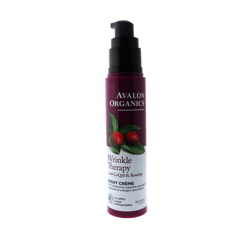 Avalon Organics CoQ10 Repair Wrinkle Defense Night 1.75-ounce Cream