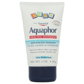 Eucerin Aquaphor Baby Healing Ointment For Dry Cracked or Irritated Skin 3-ounce Skin Protectant