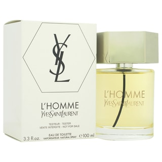 Yves Saint Laurent L'Homme Men's 3.3-ounce Eau de Toilette Spray (Tester)
