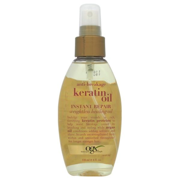 Organix Anti-Breakage Keratin Oil Instant Repair 4-ounce Oil