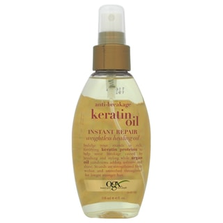 Organix Anti-Breakage Keratin Oil Instant Repair 4-ounce Oil