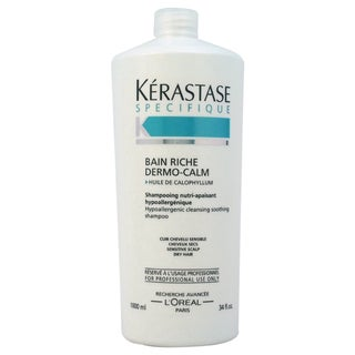 Kerastase Specifique Bain Riche Dermo-Calm 34-ounce Shampoo
