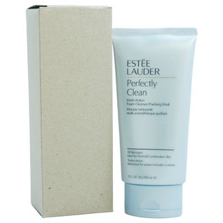 Estee Lauder Perfectly Clean Multi-Action Foam Cleanser/Purifying Mask 5-ounce Cleanser
