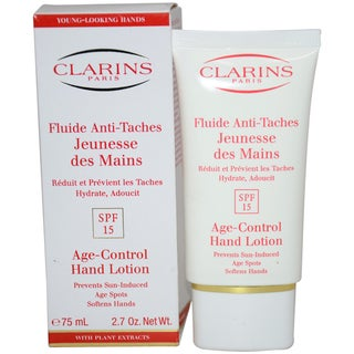 Clarins Age Control Spf 15 2.5-ounce Hand Lotion