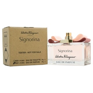 Salvatore Ferragamo Signorina Women's 3.4-ounce Eau de Parfum Spray (Tester)