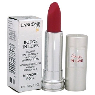 Lancome Rouge In Love High Potency Color # 377N Midnight Rose Lipstick