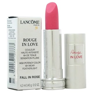 Lancome Rouge In Love High Potency Color # 343B Fall In Rose Lipstick