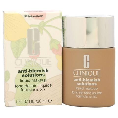 Clinique Anti-Blemish Solutions Liquid Makeup #04 Fresh Vanilla (MF) Foundation - Brown