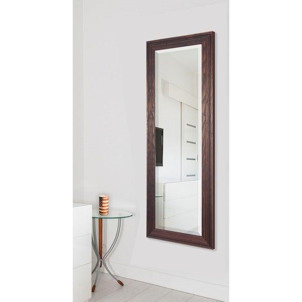 American Made Rayne Wildwood Brown 26.25 x 64.25 Full Body Mirror