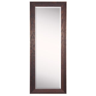 American Made Rayne Wildwood Brown 26.25 x 64.25 Full Body Mirror
