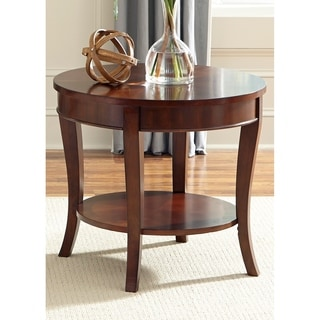 Liberty Rich Cherry Round End Table