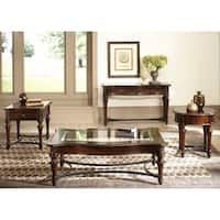Kingston Plantation Cognac Rectangular Cocktail Table