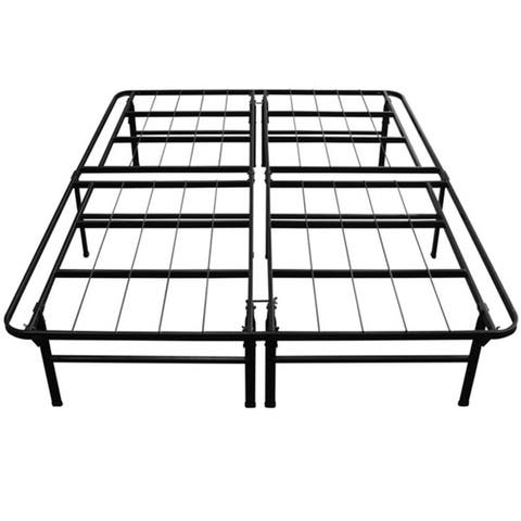 Priage by Zinus Deluxe Smart Base Steel Bed Frame