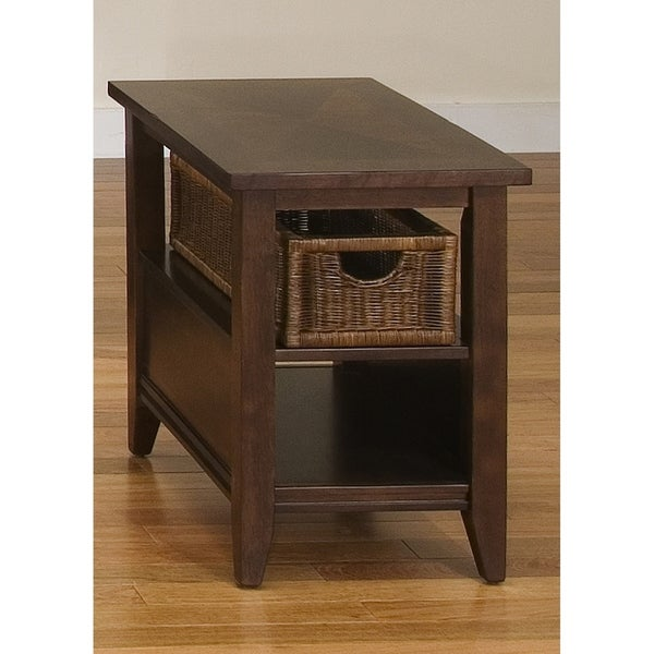 Shop Liberty Lakewood Amaretto Basket End Table Free Shipping