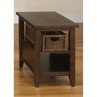 Lakewood Amaretto Basket End Table