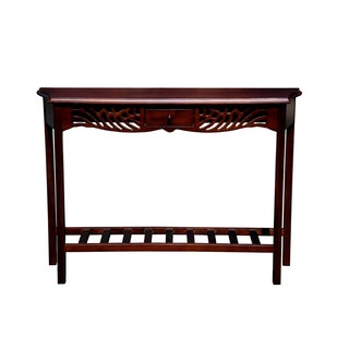 Handmade Winston Mahogany Wood Console Table (Indonesia)