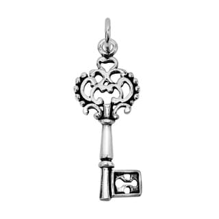 Key to My Heart .925 Sterling Silver Pendant or Charm (Thailand)