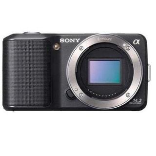 Sony Alpha NEX-3N Mirrorless Black Digital Camera Body