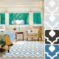 Adil Contemporary Trellis Area Rug (9'3 x 12'6)