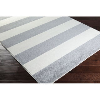 Meticulously Woven Badajoz Casual Striped Area Rug (2' x 3')