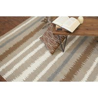 Chateauroux Flatweave Striped Accent Area Rug (2' x 3')