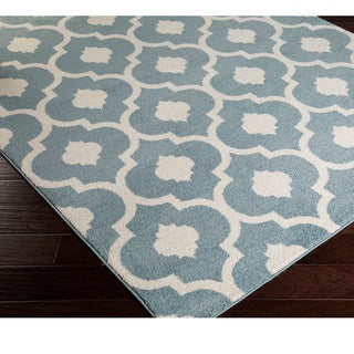 Xandra Contemporary Trellis Area Rug-(2' x 3')