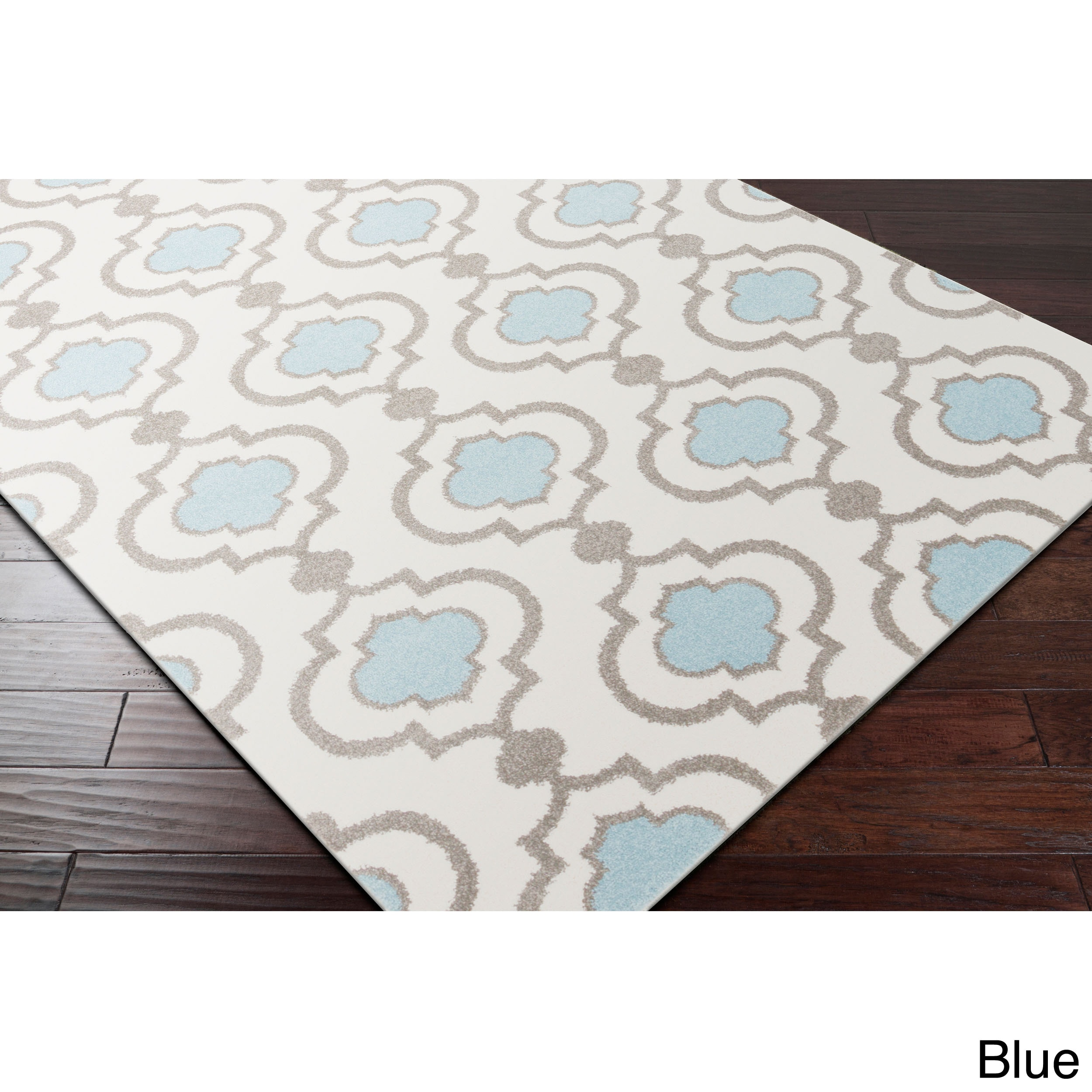 Meticulously Woven Monte Transitional Geometric Area Rug ...