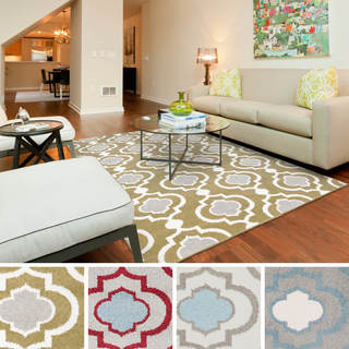 "Meticulously Woven Cairo Transitional Geometric Area Rug (6'7"" x 9'6"")"