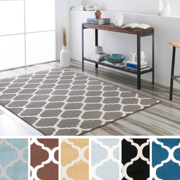 Black And White Geometric Rugs For Sale: Meticulously Woven Uster Modern Geometric Area Rug (9'3 X
