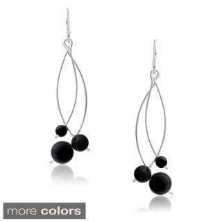 Journee Collection Sterling Silver Handcrafted Dangle Earrings