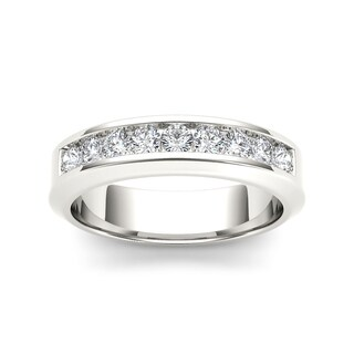 De Couer 14k White Gold 1ct TDW Diamond Women's Band
