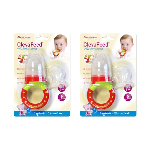 Clevamama ClevaFeed Baby Safe Feeder (Pack of 2)