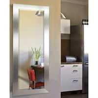 American Made Rayne Silver Wide 26 x 64-inch Full Body Mirror - 26 x 64