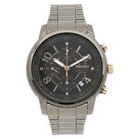 Seiko Men's SNDW83 Classic Stainless Steel Watch