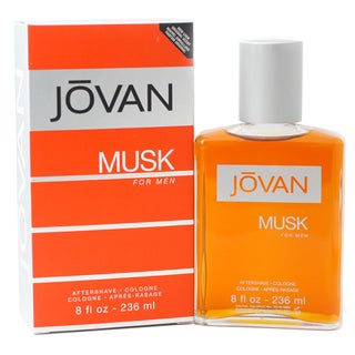 Jovan Musk 8-ounce Aftershave Cologne Splash