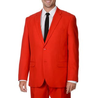 Bolzano Uomo Collezione Men's Red 2-button Suit|https://ak1.ostkcdn.com/images/products/9441307/P16626720.jpg?impolicy=medium