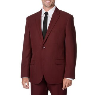 Bolzano Uomo Collezione Men's Burgundy 2-button Suit|https://ak1.ostkcdn.com/images/products/9441310/P16626721.jpg?_ostk_perf_=percv&impolicy=medium