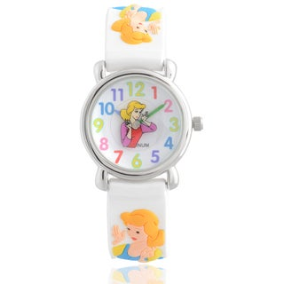 Geneva Platinum Girl's Princess Design Silicone Watch