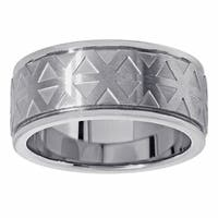 Titanium Geometric Design Fashion Ring