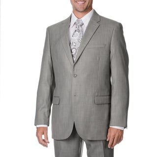 Caravelli Italy Men's Light Grey 2-piece Suit